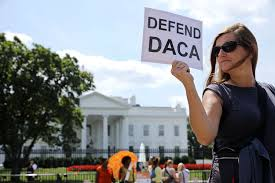 Defend Daca Poster at Whitehouse